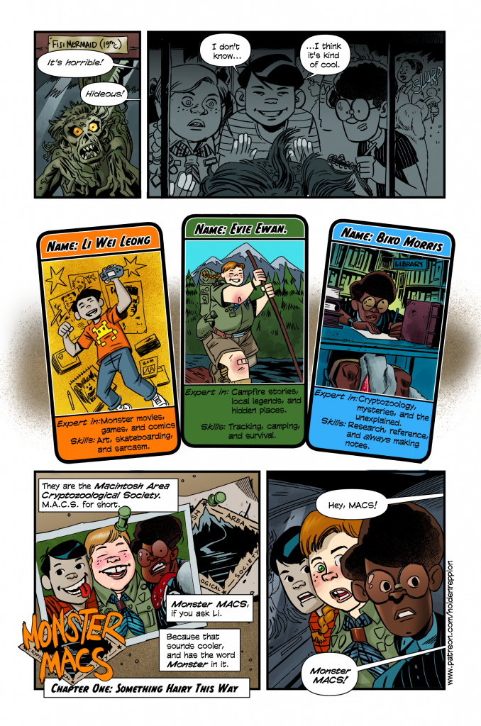 Monster Macs Page 1